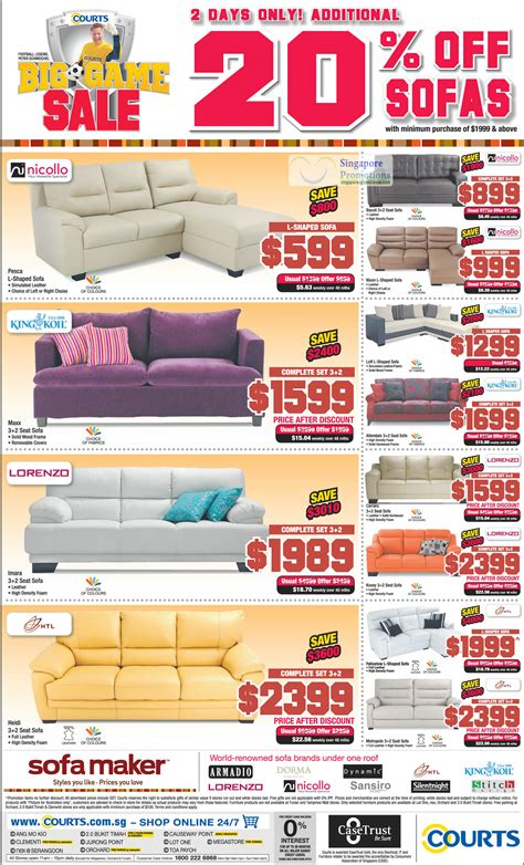 nicollo sofa singapore sofa sets nicollo king koil lorenzo htl 187 courts big