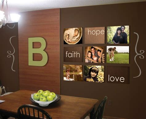 affordable wall murals cheap wall decor ideas together with large kitchen wall decor within how to decorate a large