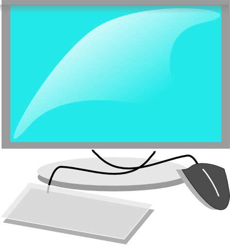 clipart computer computer terminal clip at clker vector clip