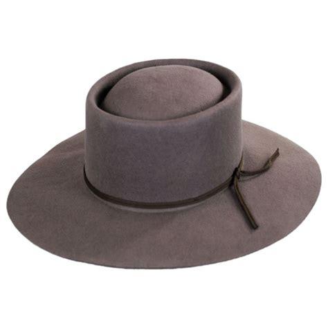 style hats brixton hats strider rancher style wide brim fedora hat