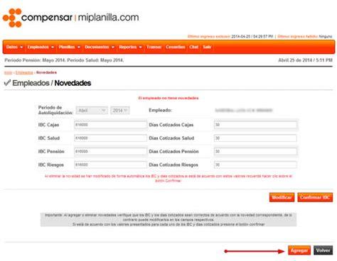 www compensar com con formularios cotizantes independientes que se vinculan por contrato
