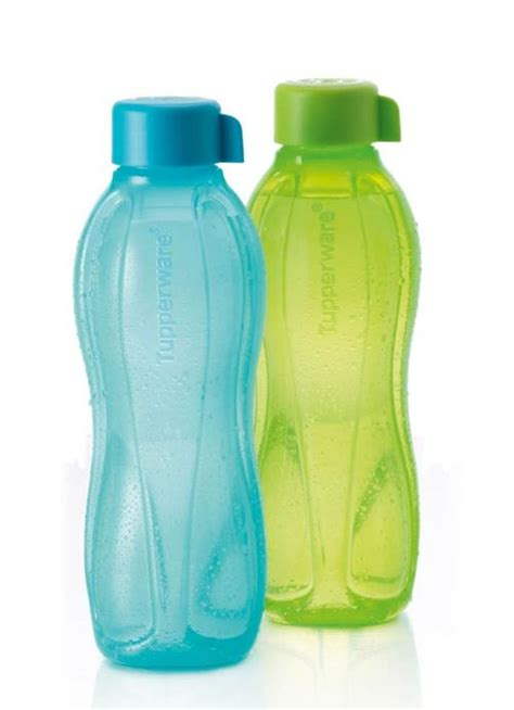 Tupperware Eco 2l kitchen storage organisation tupperware on the go bottle 1l new green colour was