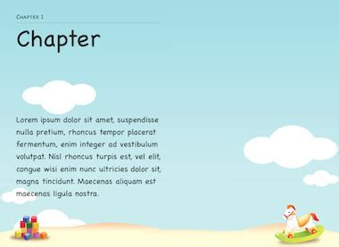 ibooks author templates childrens book