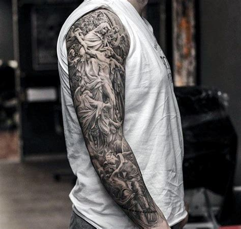 sleeve tattoo cost 50 jesus sleeve designs for religious ink