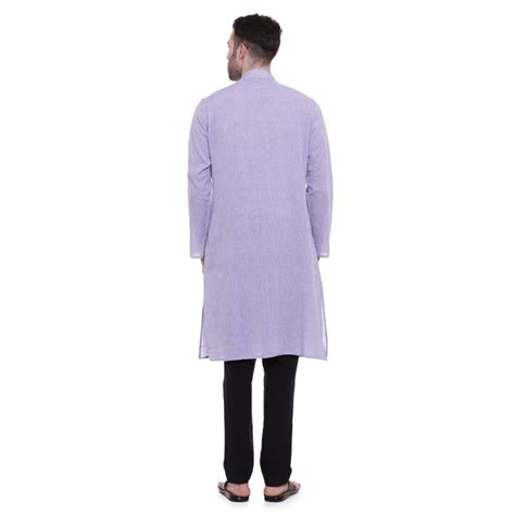 light colored mens kurta for regular fit light colored