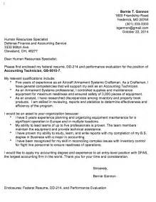 federal government cover letter sle cover letter builder the resume place