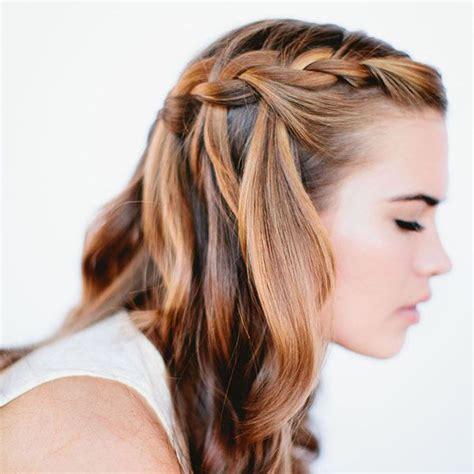 désépaissir les cheveux tuto coiffure se faire une tresse cascade en trois
