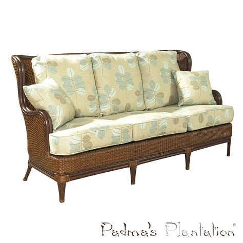 plantation sofa palm beach outdoor sofa padma s plantation