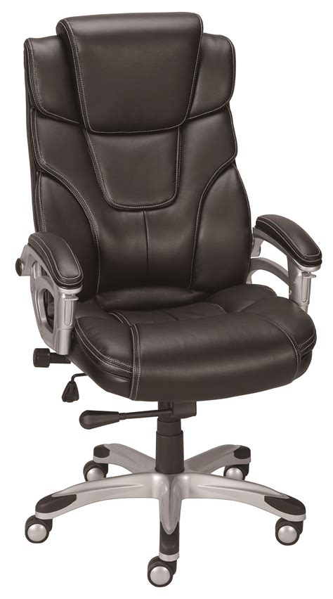 Baird Chair by Staples Baird Bonded Leather Managers Chair Black Ebay