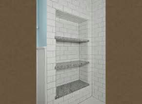 simplifying remodeling how to a shower niche that s