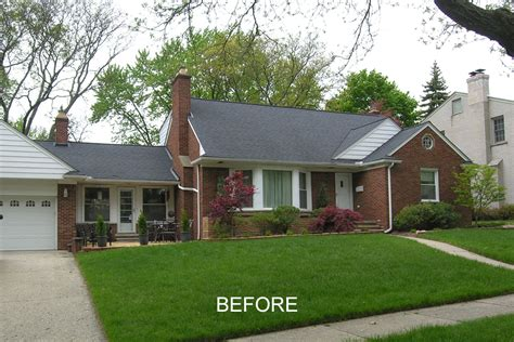 brick house exterior makeover home exterior makeovers in royal oak ferndale michigan