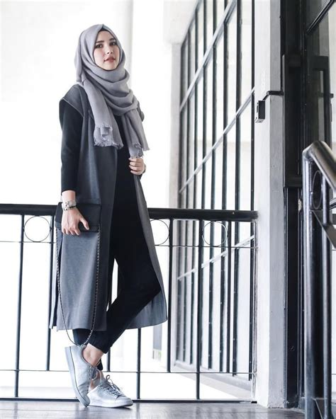 23  Fashion Hijab Casual yang Santai Namun Tetap Modis 2019