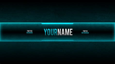 Youtube Banner 2048x1152 Best Template Idea Gaming Channel Template