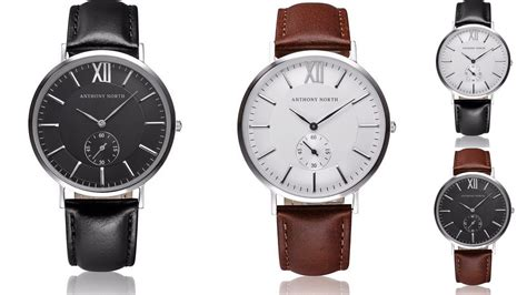 nordic design watches anthony north minimalist scandinavian watchesfashionela