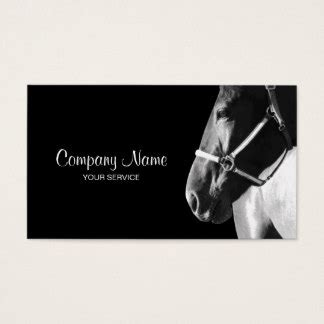 equine business cards templates business cards templates zazzle