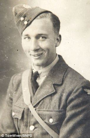 heroics of raf officer who saved his crew after plane
