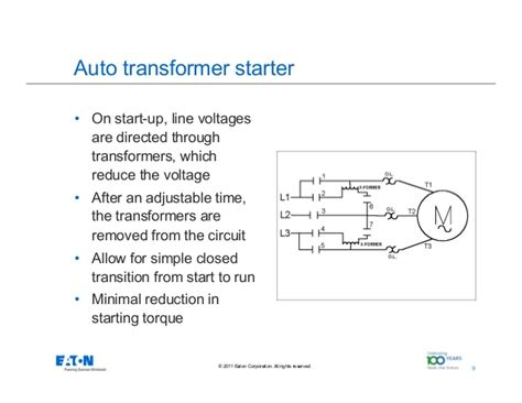 wiring diagram for auto transformer starter wiring