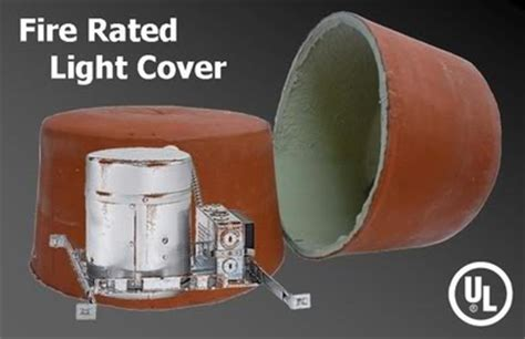 fire rated recessed light enclosure insulating older recessed light cans general diy