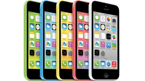 iphone 5s with fingerprint reading 5c colors live