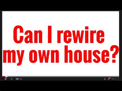 how to rewire a house can i replace my own electrical panel funnycat tv