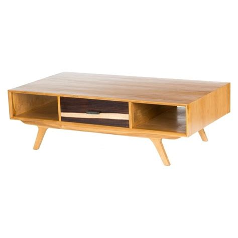 Libra Two Tone Retro Coffee Table By Fusion Living All Coffee Tables