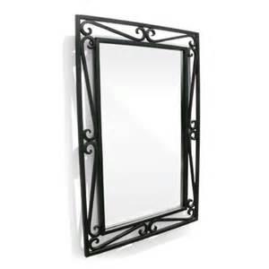 Bedroom Decorating Idea d vontz iron cantilevered scroll mirror amp reviews wayfair