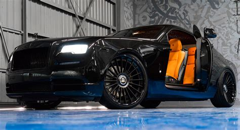 yellow rolls royce wraith murdered out rolls royce wraith keeps the on the inside