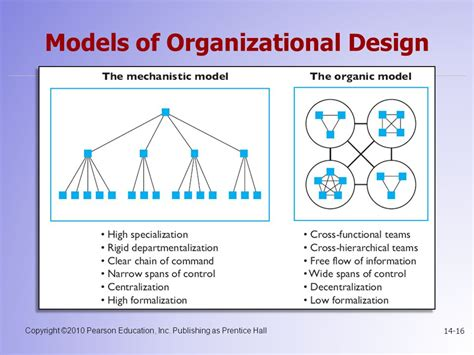 organizational design for dynamic environment pdf chapter 14 foundations of organizational structure ppt