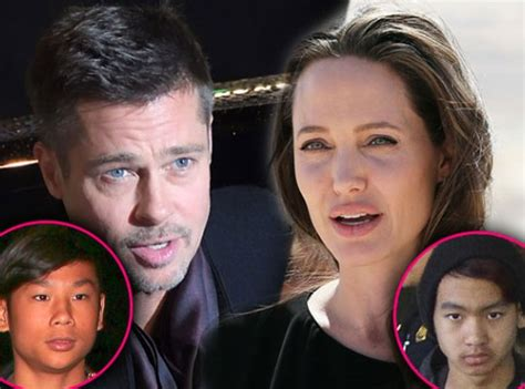 Pax Becomes A Pitt by And Brad Pitt May Lose Foster Children