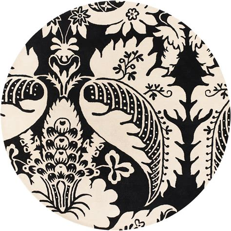 Black And White Damask Area Rug Black And White Damask Area Rug Decor Ideasdecor Ideas