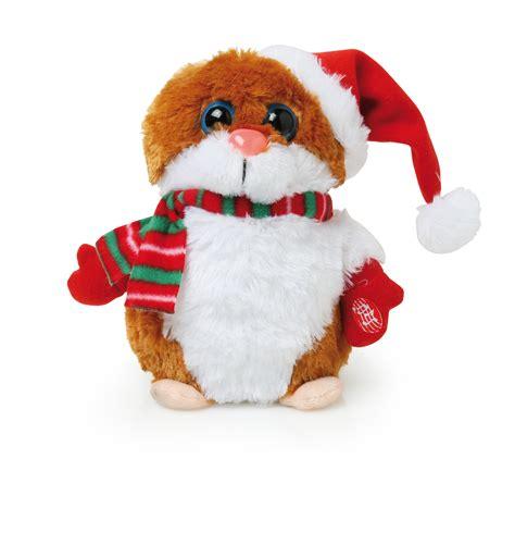 animated singing santa hat animated hamster singing it s your birthday santa hat gift ebay