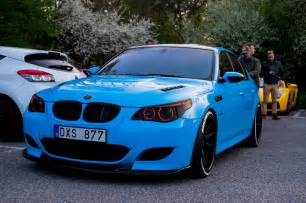 Bmw V10 Stunning Blue Bmw M5 V10