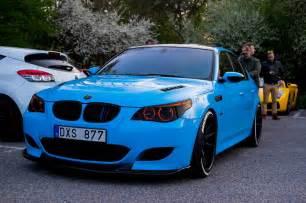 Bmw V10 M5 Stunning Blue Bmw M5 V10