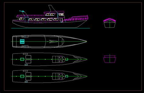 boat ship dwg block  autocad designs cad