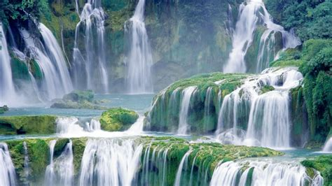 waterfall wallpaper hd 1920x1080 forest waterfall hd wallpaper 1920x1080 30174