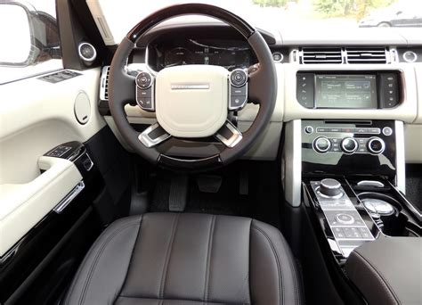 2016 land rover range rover interior 2016 range rover td6 hse review wheels ca