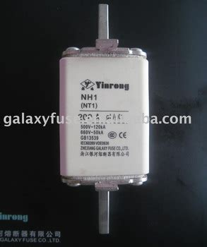 Nh Fuse Nt Fuse Namsung Size 1 200 Ere nh1 nt1 fuse link ce buy fuse low voltage fuse fuse link product on alibaba