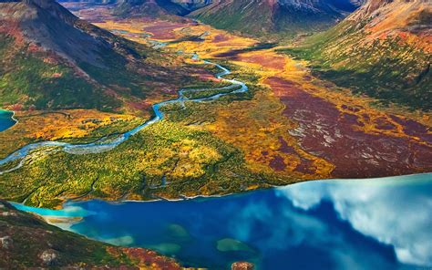 md wallpaper land rainbow mountain field nature papersco