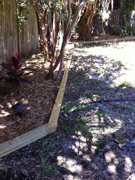 Landscape Timbers Border 1000 Ideas About Landscape Timber Edging On