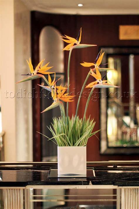 emotional power   hotel floral arrangements  london