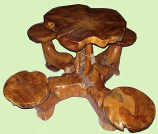 Potong The Roots collection teak root roots