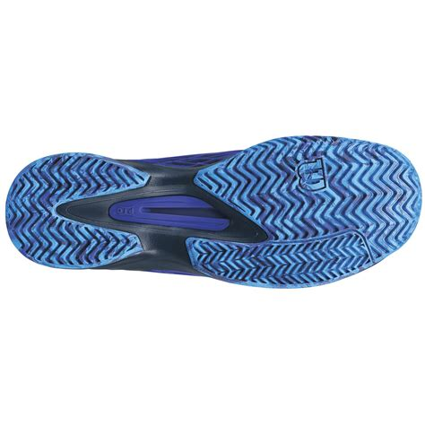 Kaos Blue Black wilson mens kaos tennis shoes blue black tennisnuts