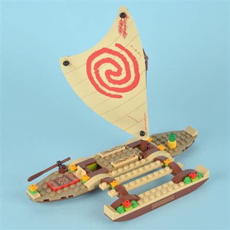 moana kakamora boat review 41150 moana s ocean voyage brickset lego set