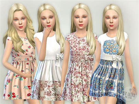 design clothes the sims 4 designer dresses collection p19 by lillka at tsr 187 sims 4