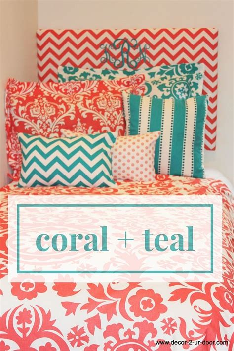 teal and coral bedding 57 best images about coral and teal bedding on pinterest