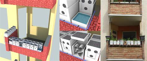 idee balkon bauen - Urlaubsbewässerung Balkon