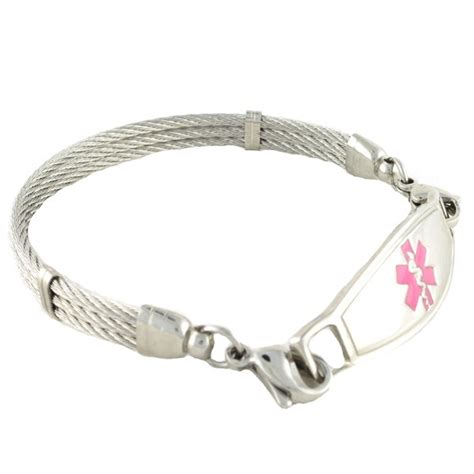 stainless steel bracelet pretty id