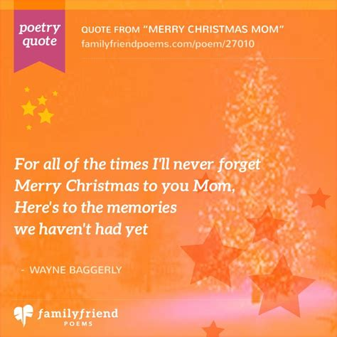 poem thanking mom   shes  merry christmas mom