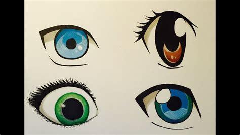 draw anime eyes youtube