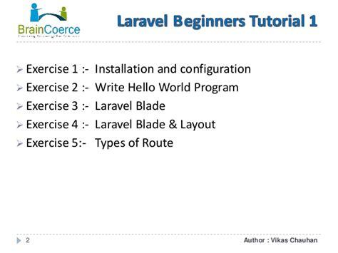 laravel layout tutorial laravel beginners tutorial 1